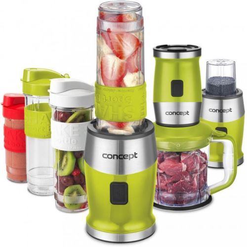 Fresh&Nutri smoothie mixér, chopper, mlýnek CONCEPT SM3393