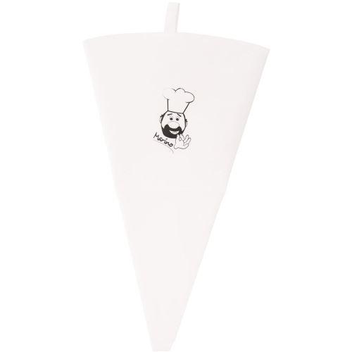 Sáček na zdobení bavlna/guma 47 cm
