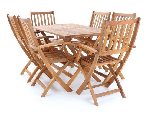 Stolová dřevěná sestava PRINCE VeGA 6