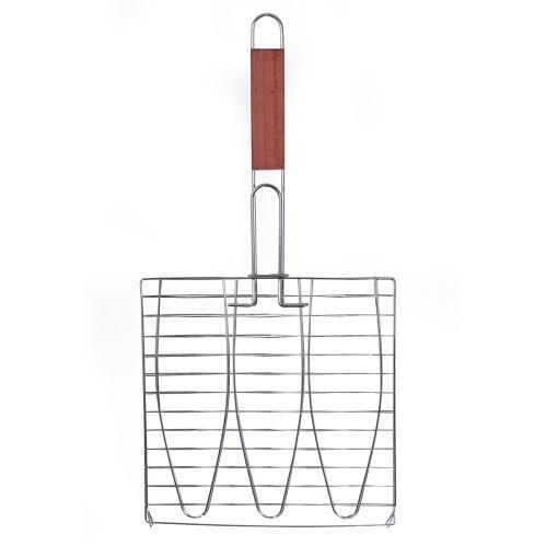 Trojitý grilovací rošt na ryby Activa 52 cm