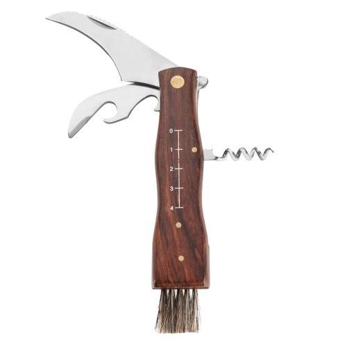 Nůž houbařský + štětec, otvíráky