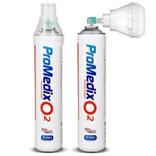 Lékařský inhalační kyslík v plechovce Promedix 14L PR-994