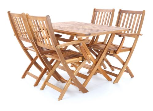 Zahradní stolová sestava Prince VeGa 4 SET