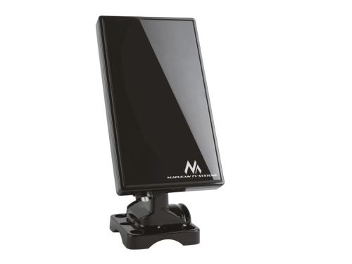 Černá TV DVB-T anténa Maclean MCTV-970