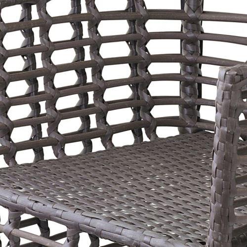 Ratanová židle G21 Royal brazilský dub