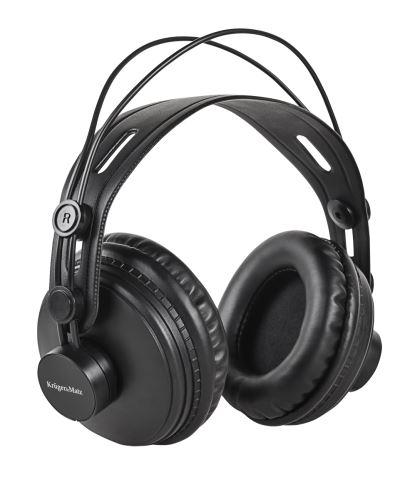 Studiová sluchátka Kruger&Matz KM0885 černá