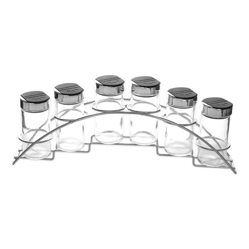 Kořenka sklo/UH 6 ks+stojan kov