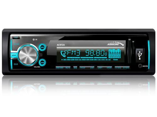 AUDIOCORE autorádio AC9720 B MP3 / WMA / USB / RDS / SD ISO