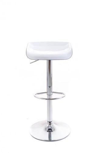 Barová židle G21 Whieta plastová white/black