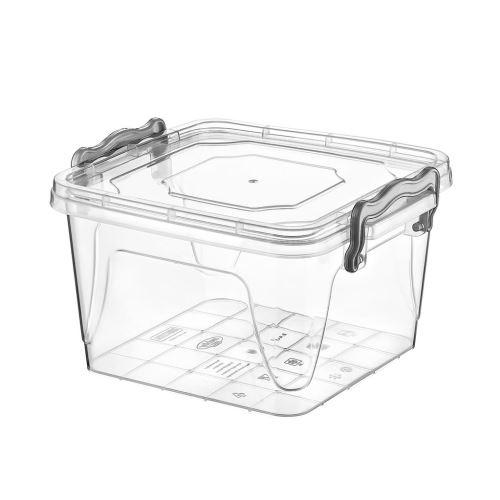 Box UH multi čtverec nízký 1,2 l