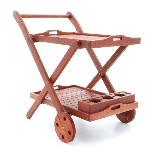 Servírovací stolek VeGAS ze dřeva