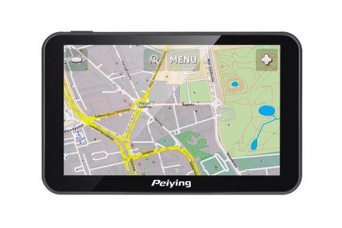 GPS navigace Peiying Basic PY-GPS5014 černá