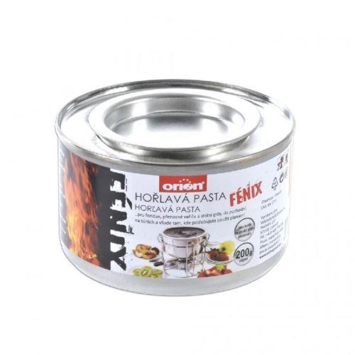 Hořlavá pasta FIREGEL 200 g plech