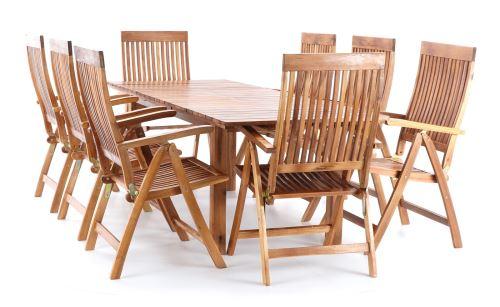 Stolová dřevěná sestava TORINO VeGA set 8