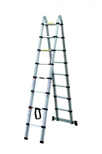 Teleskopický žebřík G21 GA-TZ16-5M štafle/žebřík