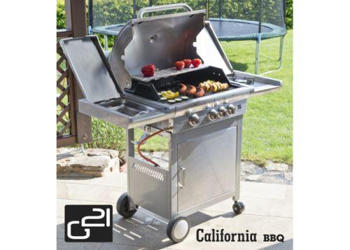 Plynový gril G21 California BBQ Premium line 4 hořáky