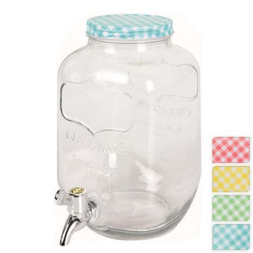 Orion skleněný zásobník na nápoje s kohoutkem 4l