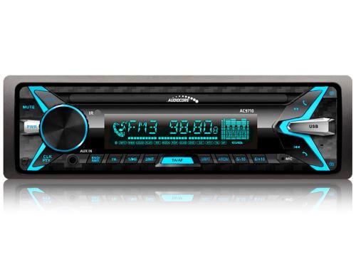Černé autorádio AUDIOCORE AC9710 B Bluetooth