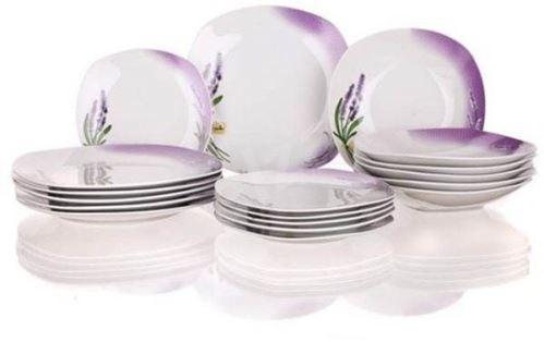 Banquet Sada porcelánových talířů Lavender 18 ks