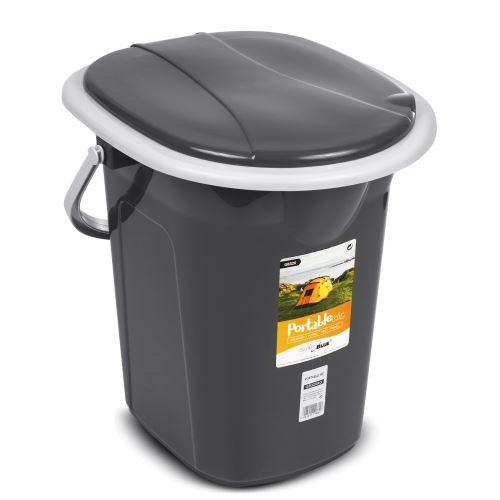 Turistická toaleta GreenBlue GB320BB černo-šedá 19l 69929