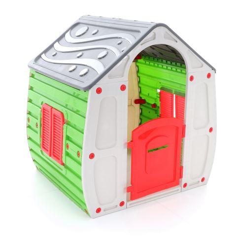 Dětský plastový zahradní domeček STARPLAST Magical House GREY