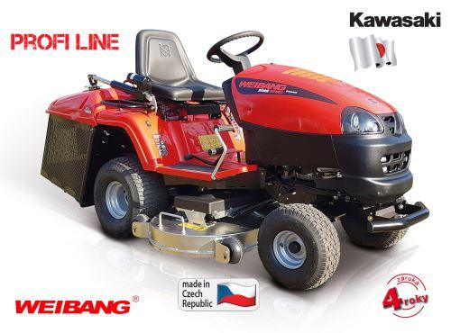 Červený zahradní traktor Weibang 2022 SPIRIT Premium