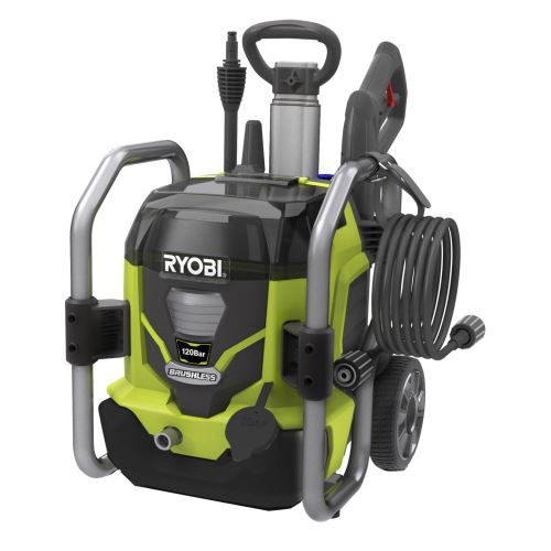 Aku bezuhlíkový vysokotlaký čistič Ryobi RPW36120HI 120 BAR